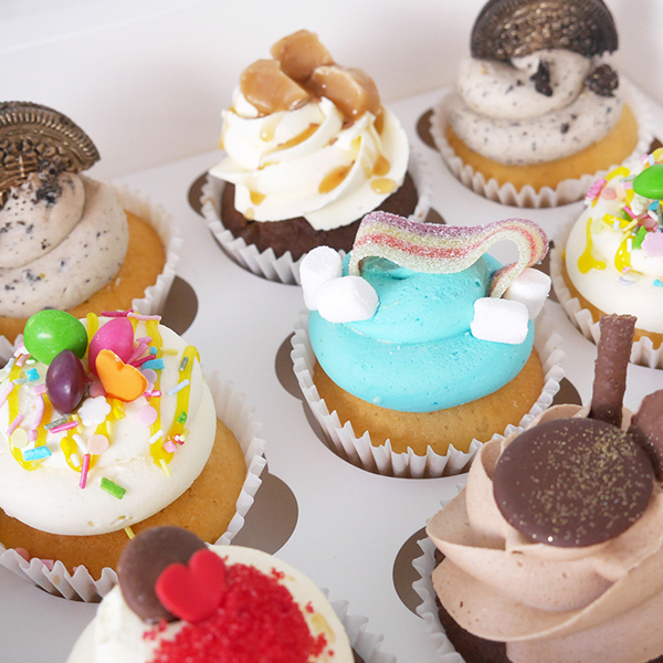 The Cakery Assorted Cupakes
