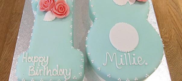 Number 18 Birthday Cake
