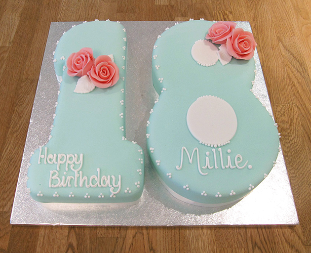 Strange Number 18 Birthday Cake The Cakery Leamington Spa Funny Birthday Cards Online Elaedamsfinfo