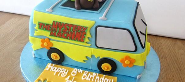 Tremendous Scooby Doo Mystery Machine Cake The Cakery Leamington Spa Funny Birthday Cards Online Elaedamsfinfo