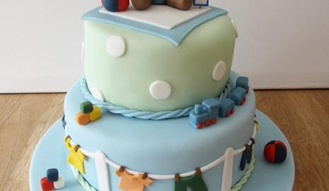 2 Tier Baby Cake