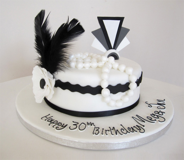 1920's Themed Cake