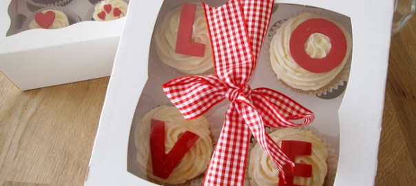 Valentines Day Boxed Cupcakes