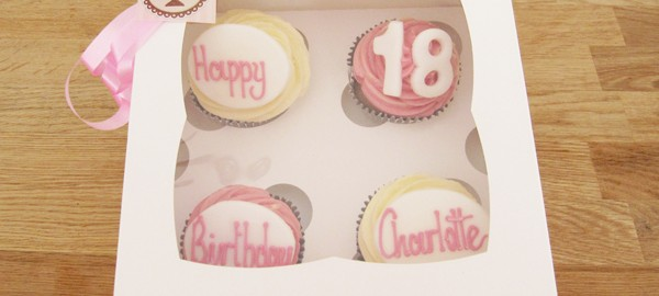 18th birthday Cupcake Box