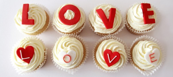 Valentines Day LOVE Cupcakes