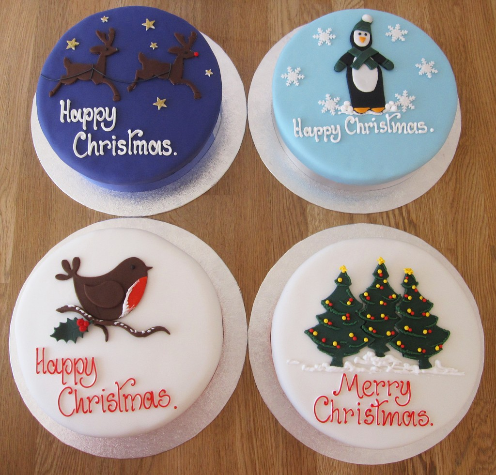 The Cakery Christmas Cake range