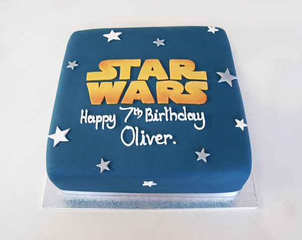 Admirable Star Wars Birthday Cake The Cakery Leamington Spa Birthday Cards Printable Riciscafe Filternl