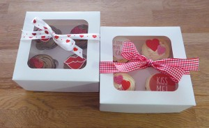Valentine's Day Cupcake Gift Boxes