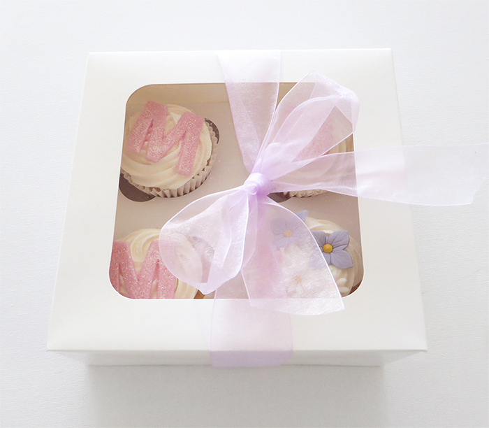 Mothers Day Cupcakes - Box of 4