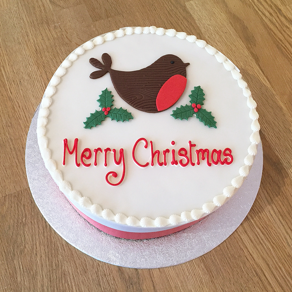 Christmas is coming! Order your Christmas cakes \u0026 cupcakes