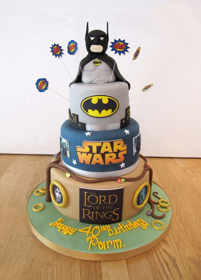 Movie Themed Birthday Cake