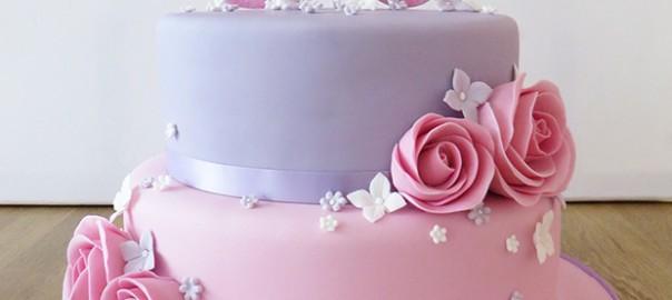 2 Tier 30th Birthday Cake