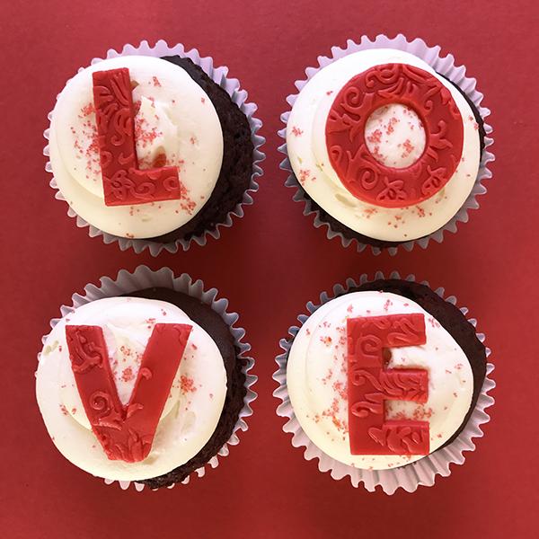 L.O.V.E Cupcakes