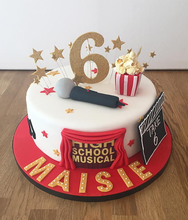 Excellent High School Musical Birthday Cake The Cakery Leamington Spa Funny Birthday Cards Online Alyptdamsfinfo