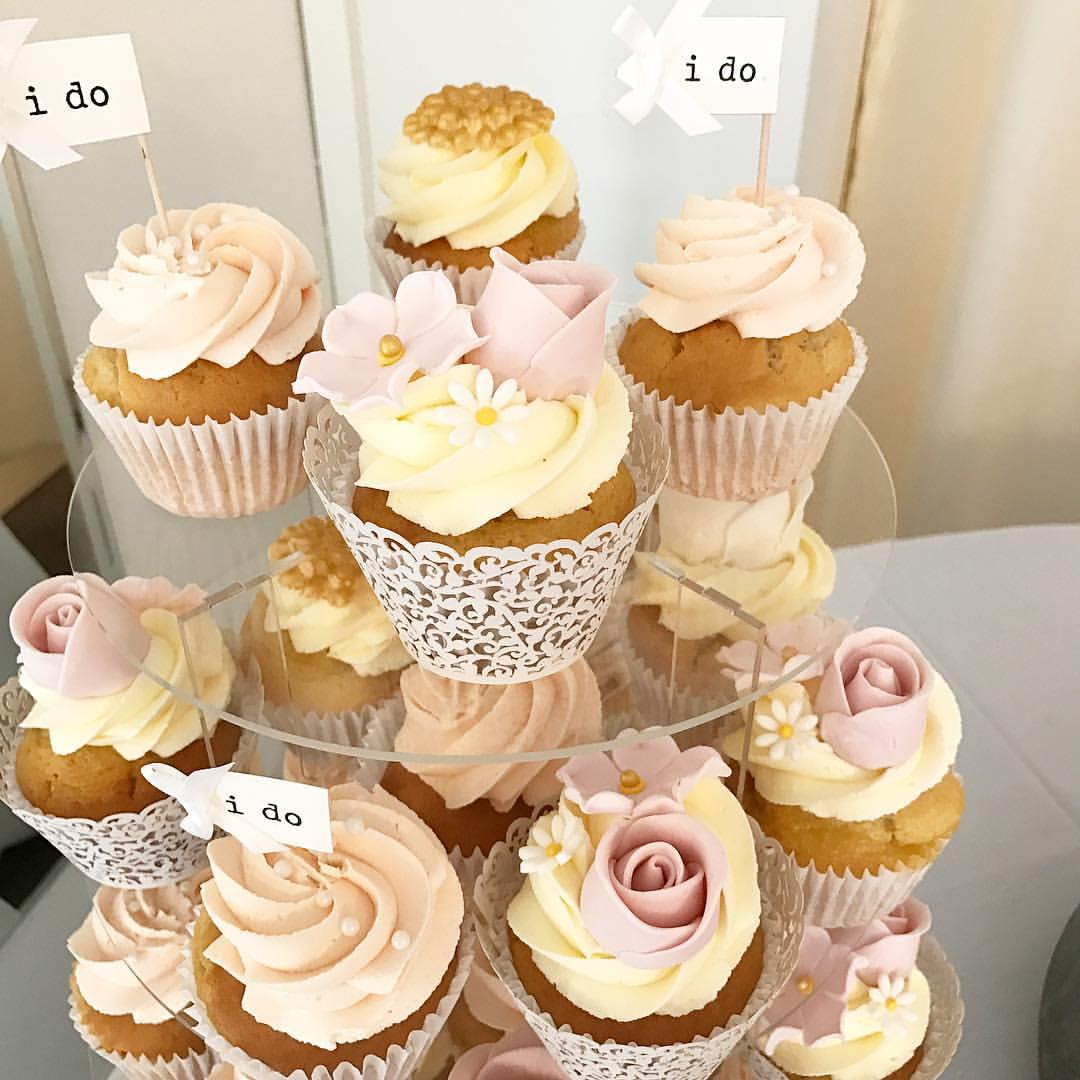 'I Do' Wedding Cupcakes