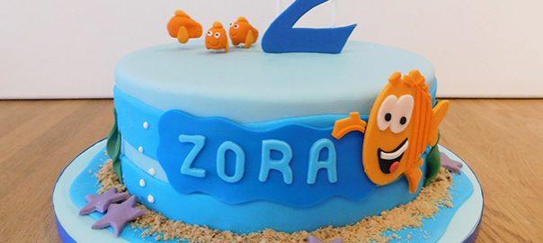 Finding Nemo 2nd Birthday Cake