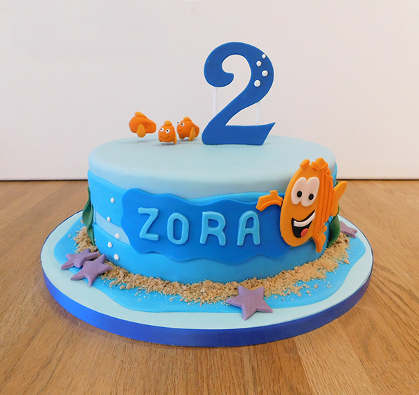 Finding Nemo 2nd Birthday Cake