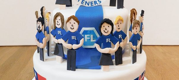 International Fasteners Corporate Cake