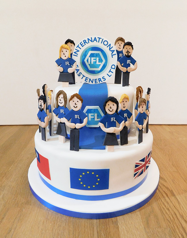 International Fasteners Corporate Cake