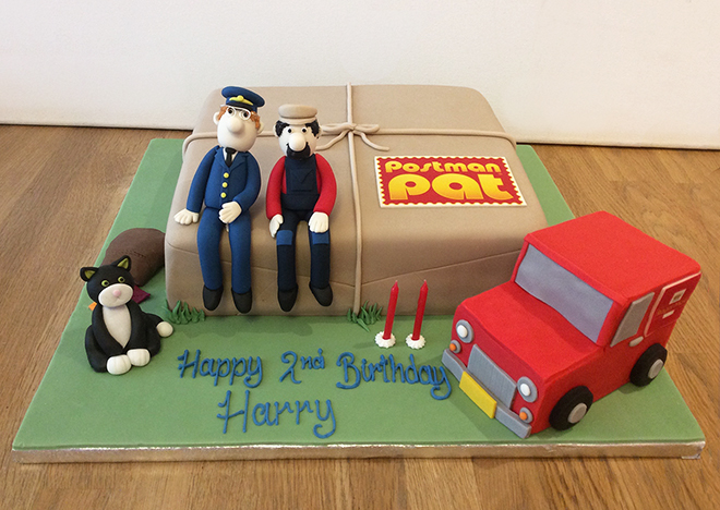 Postman Pat 2nd Birthday Cake