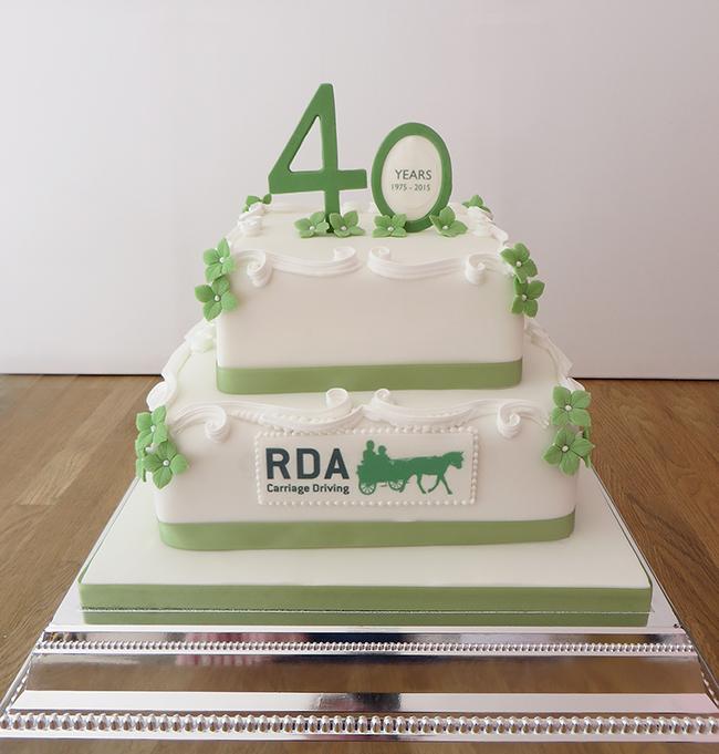 RDA 40th Anniversary Cake