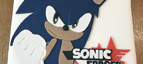 Sonic Speed Battle Cake