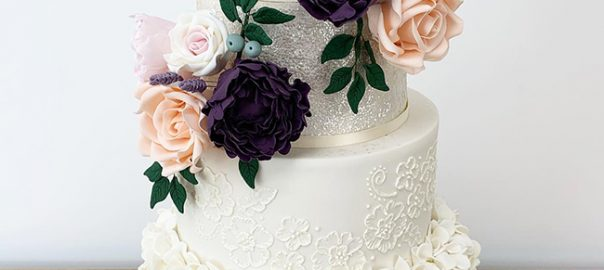 4 Tier Beautiful Statement Cake