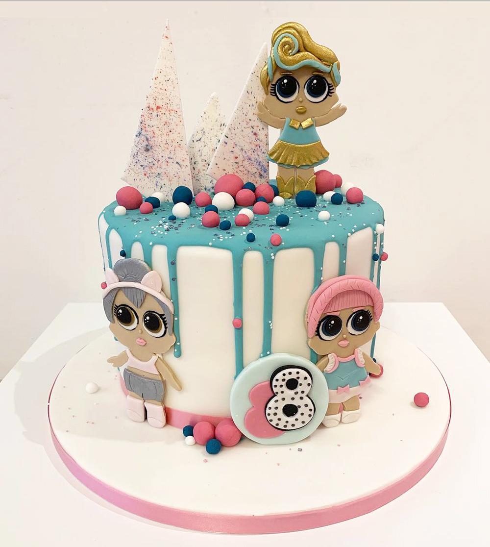 Peachy Lol Surprise Birthday Cake The Cakery Leamington Spa Funny Birthday Cards Online Amentibdeldamsfinfo