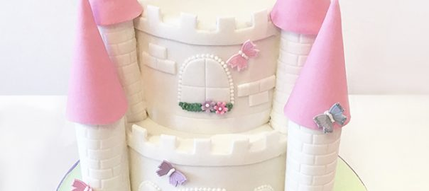 Castle 3rd Birthday Cake