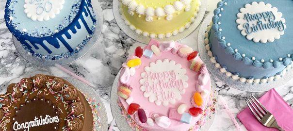 Mini Cakes Range