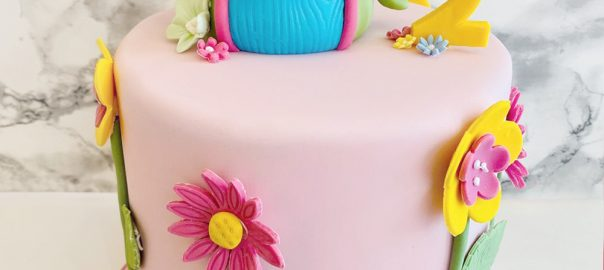Teapot 2nd Birthday Cake