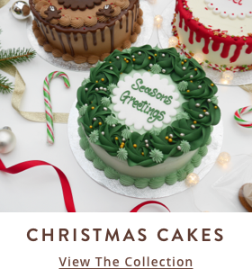 Christmas Cakes Collection from The Cakery