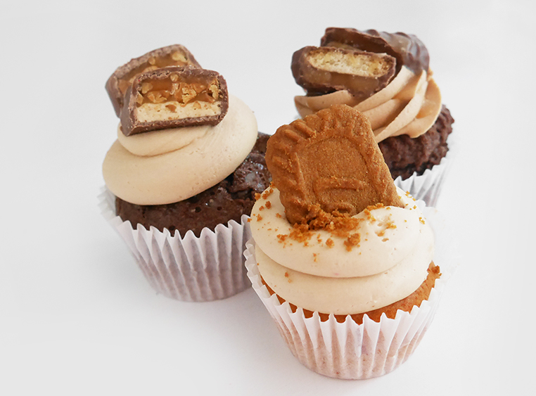 Chocolate Biscuit Flavoured Cupcakes