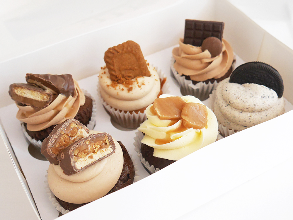 Sweet Indulgence Cupcakes Box of 6