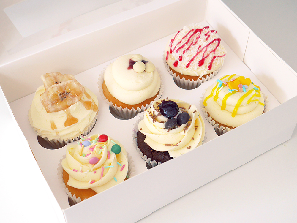 Fruitilicious Cupcakes Box of 6