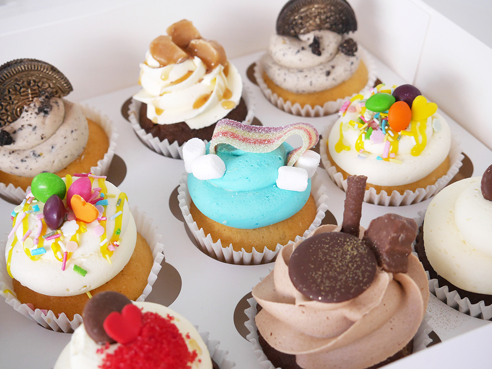 Mixed favourites cupcakes by The Cakery