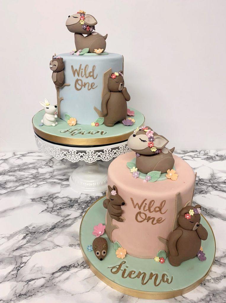 Wild One 1st Birthday Cakes