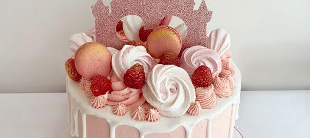 Disney Castle 21st Birthday Cake